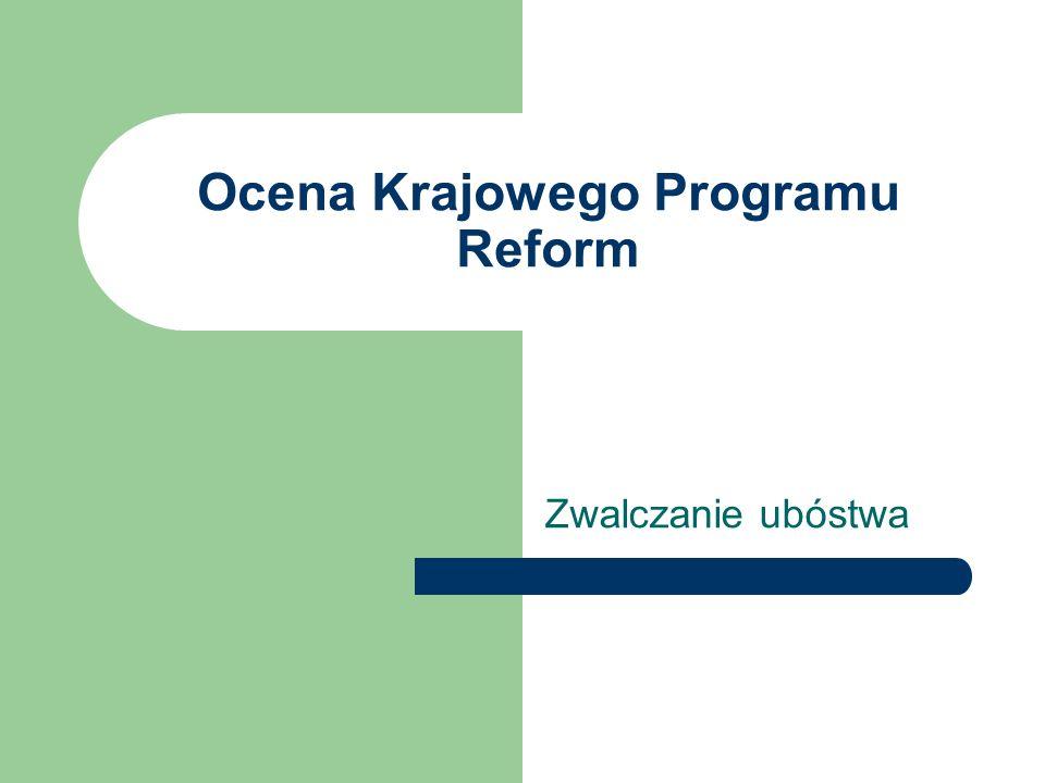 Ocena Krajowego Programu Reform