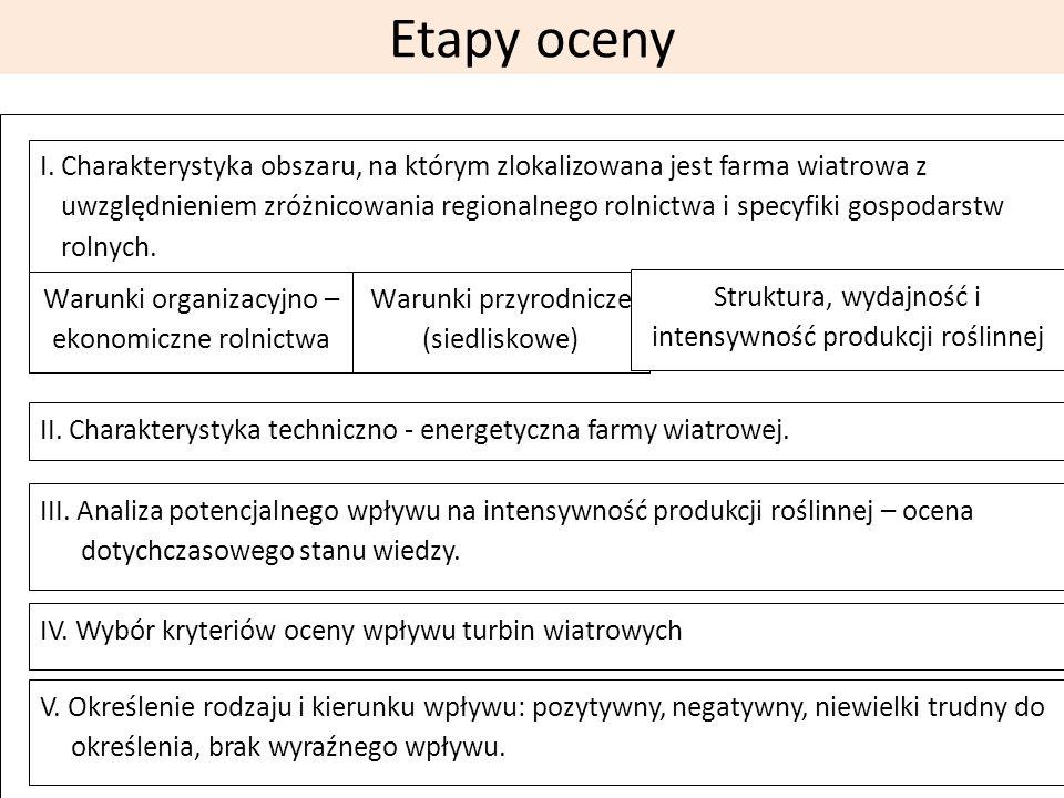 Etapy oceny