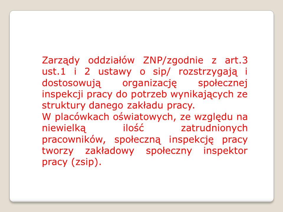 Zarządy oddziałów ZNP/zgodnie z art. 3 ust