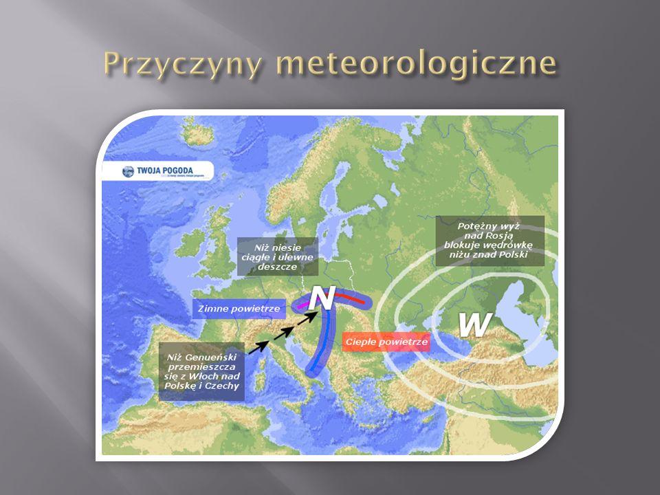 Przyczyny meteorologiczne