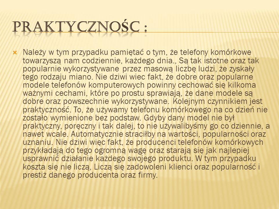 PraktycznośC :
