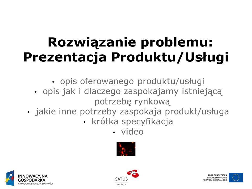 Rozwiązanie problemu: Prezentacja Produktu/Usługi
