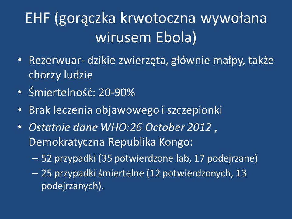 EHF (gorączka krwotoczna wywołana wirusem Ebola)