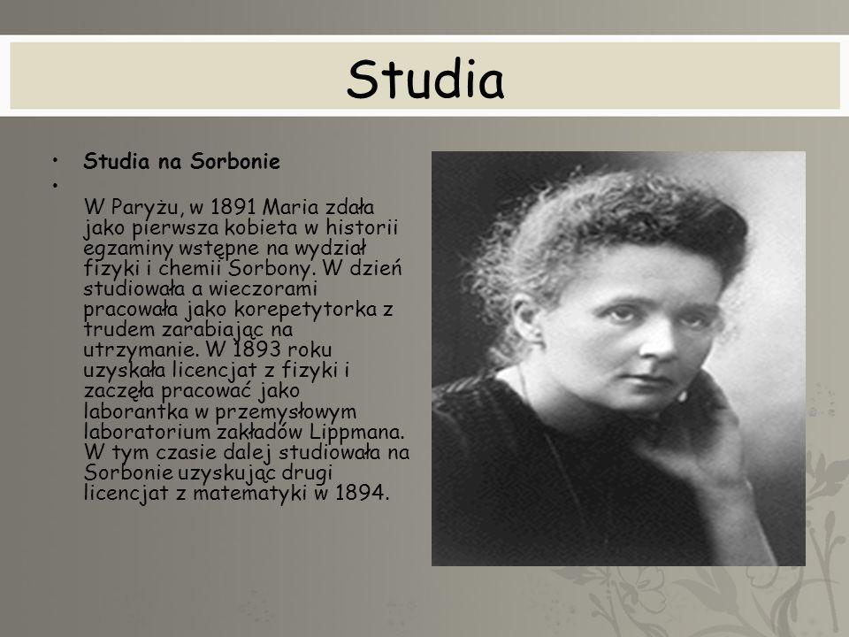 Studia Studia na Sorbonie