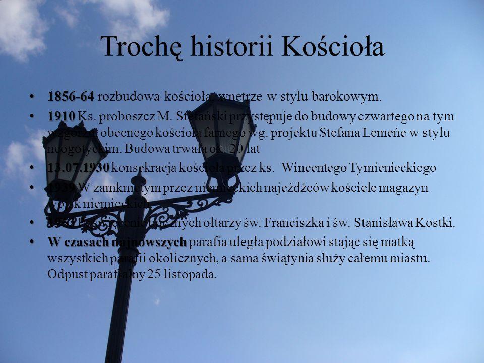 Trochę historii Kościoła