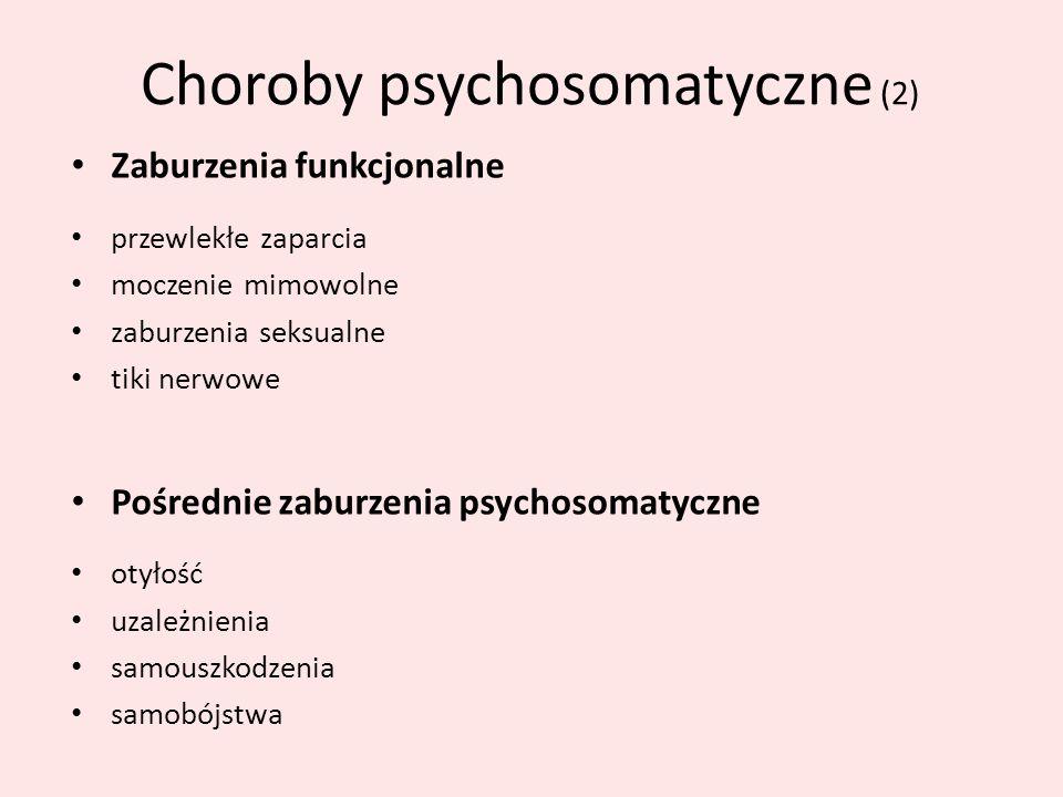 Choroby psychosomatyczne (2)