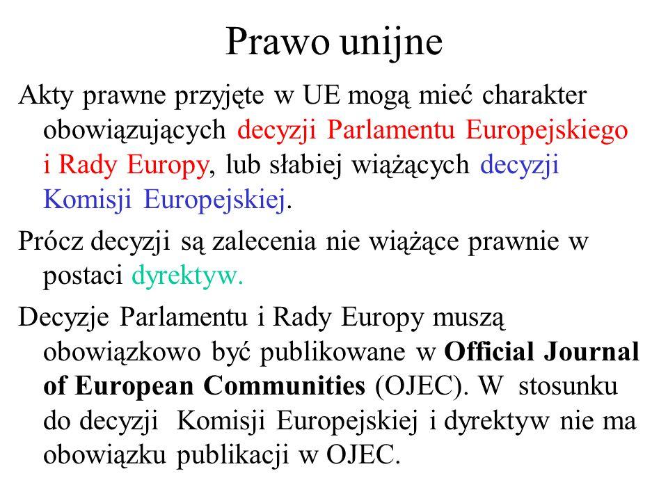 Prawo unijne