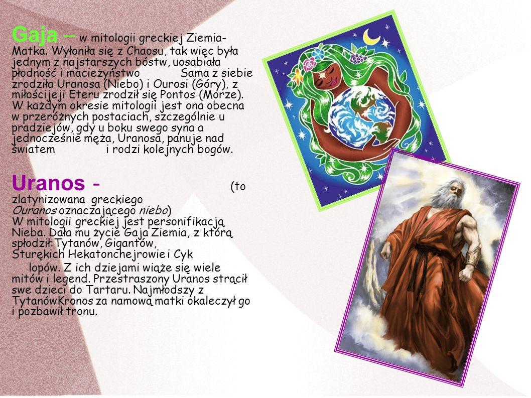 Gaja – w mitologii greckiej Ziemia-Matka