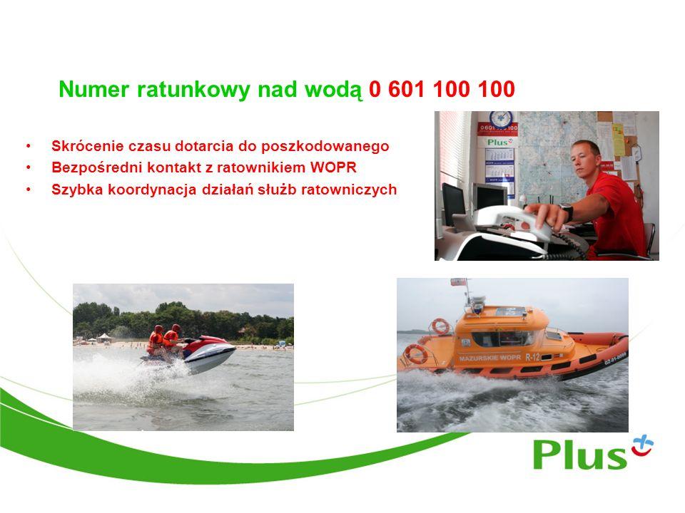 Numer ratunkowy nad wodą 0 601 100 100