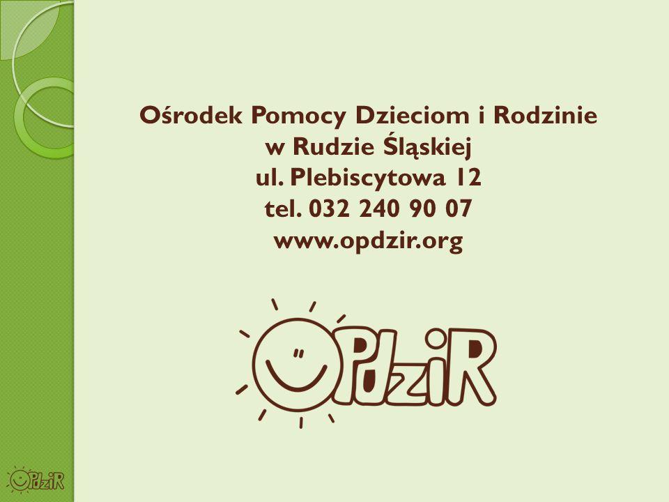 Ośrodek Pomocy Dzieciom i Rodzinie w Rudzie Śląskiej ul