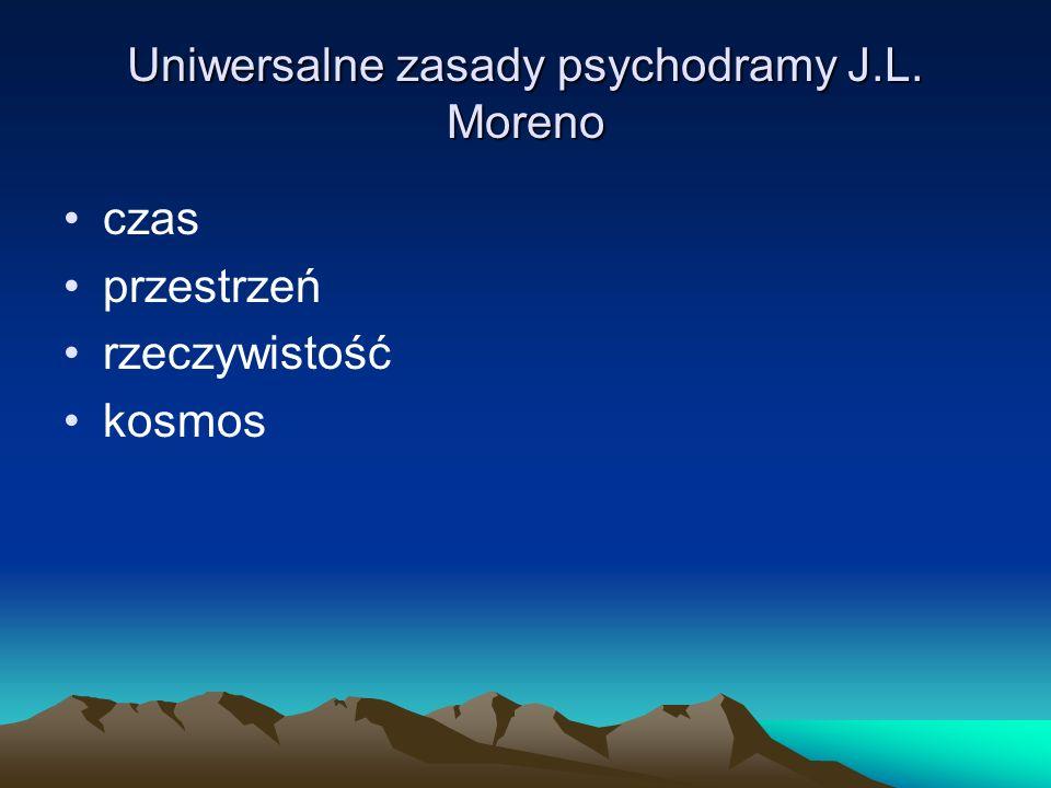 Uniwersalne zasady psychodramy J.L. Moreno