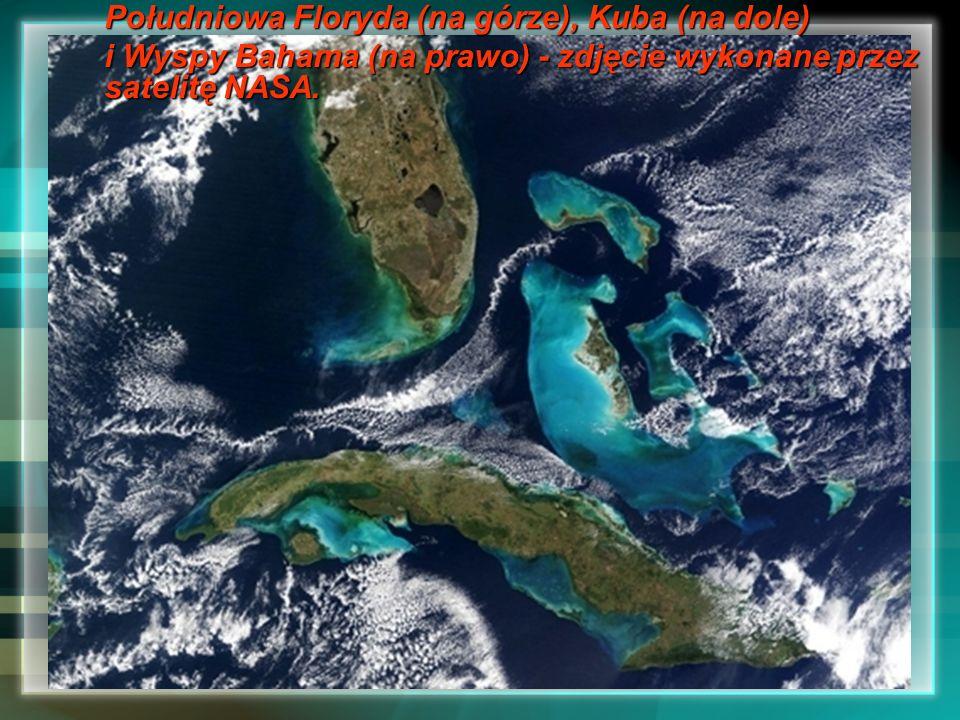 Południowa Floryda (na górze), Kuba (na dole)