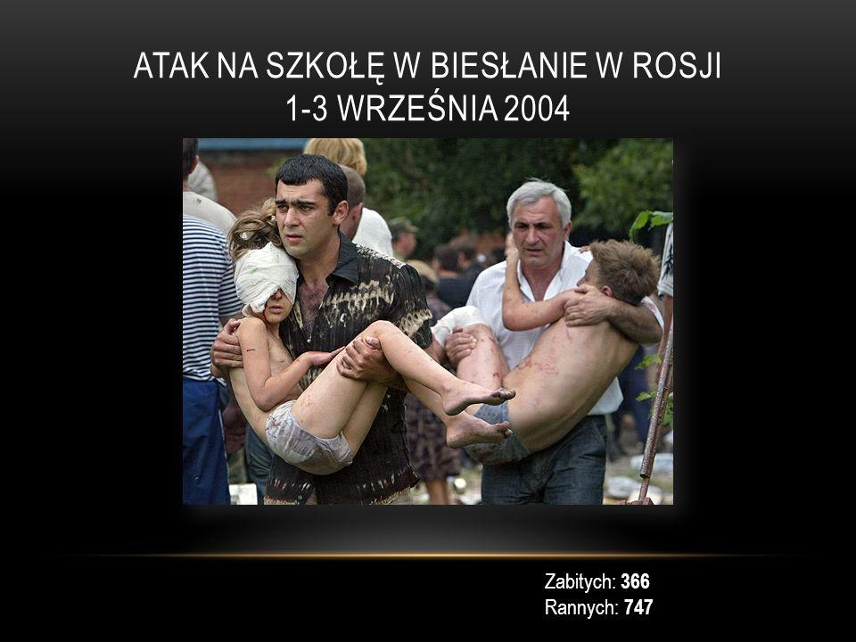 Atak na szkołę w Biesłanie w Rosji 1-3 września 2004