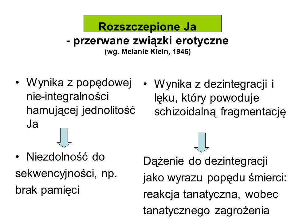 Rozszczepione Ja - przerwane związki erotyczne (wg