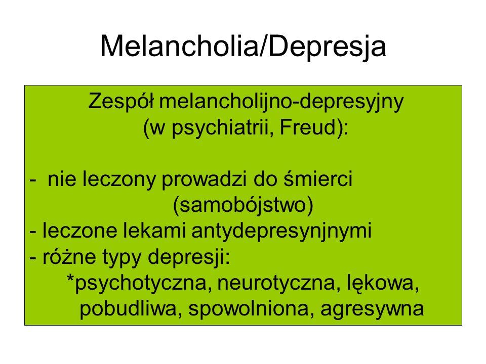 Melancholia/Depresja