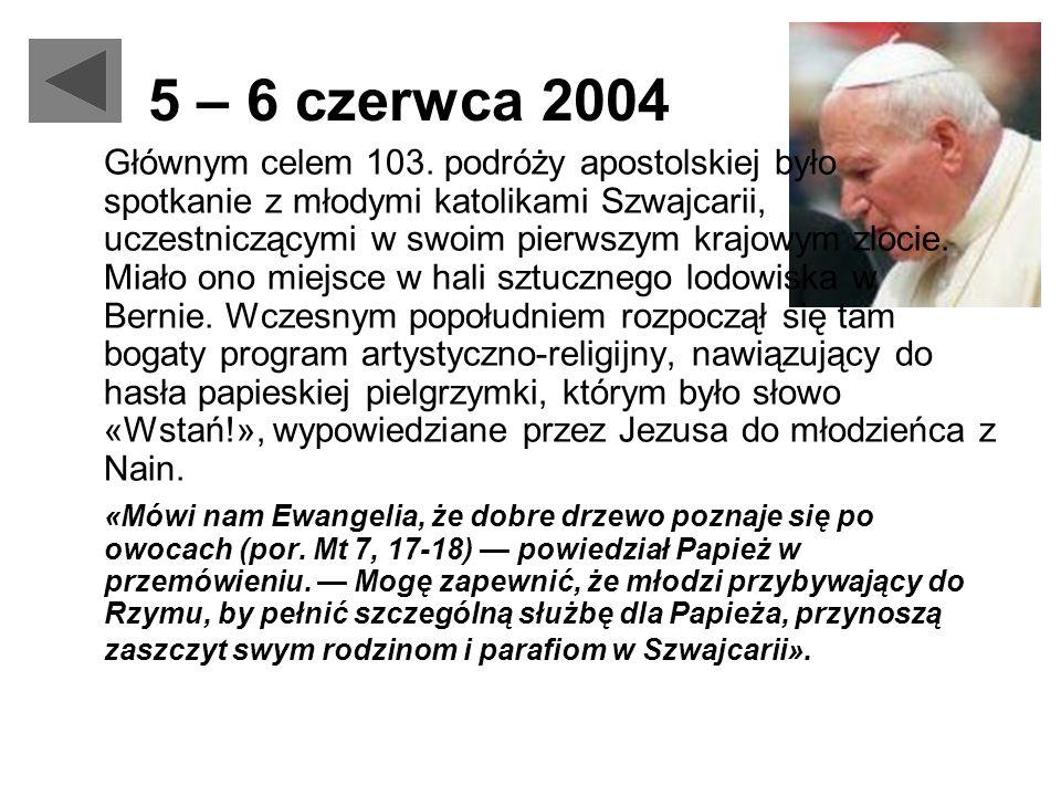 5 – 6 czerwca 2004