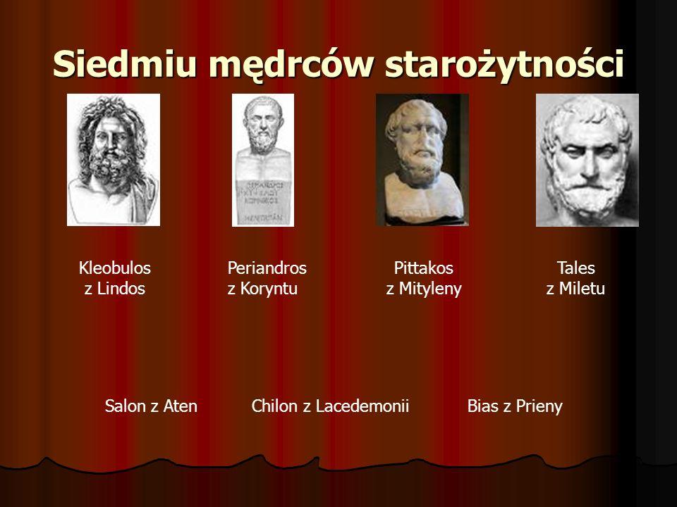 Siedmiu mędrców starożytności