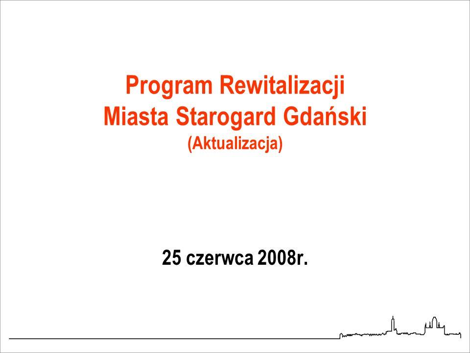 Program Rewitalizacji Miasta Starogard Gdański (Aktualizacja)