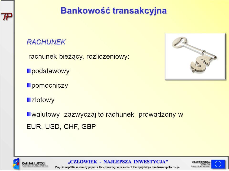 Bankowość transakcyjna