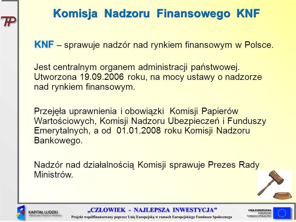 Komisja Nadzoru Finansowego KNF