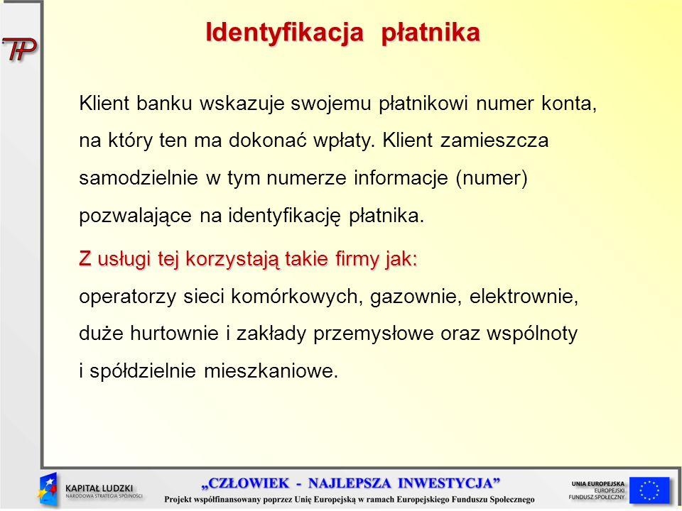 Identyfikacja płatnika