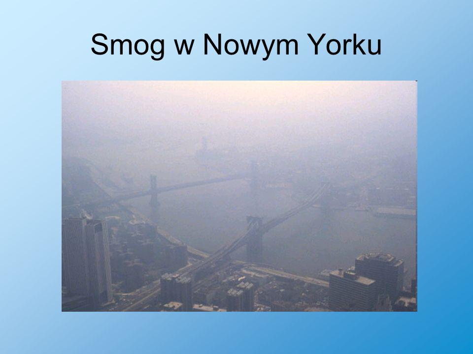 Smog w Nowym Yorku