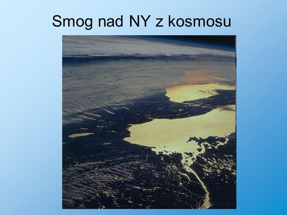 Smog nad NY z kosmosu
