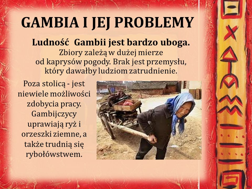 GAMBIA I JEJ PROBLEMY