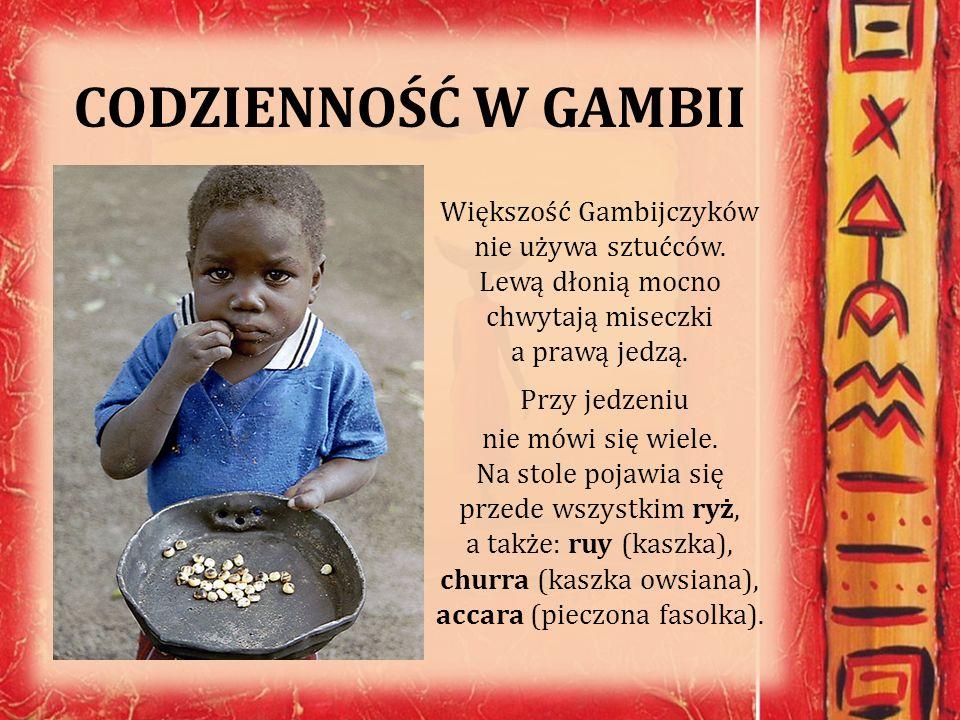 CODZIENNOŚĆ W GAMBII
