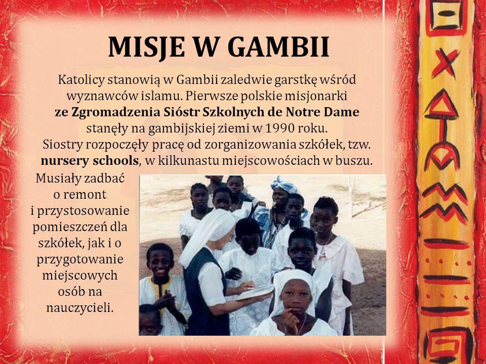 MISJE W GAMBII