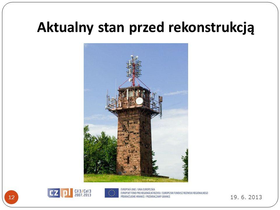 Aktualny stan przed rekonstrukcją