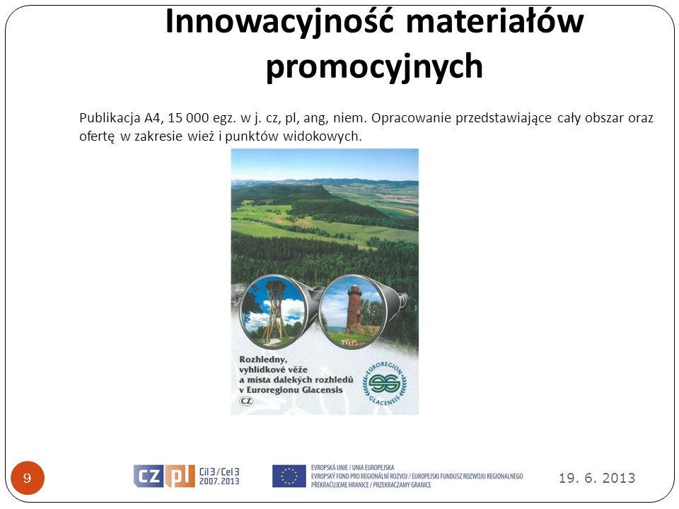 Innowacyjność materiałów promocyjnych