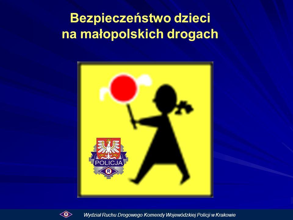 Bezpieczeństwo dzieci na małopolskich drogach