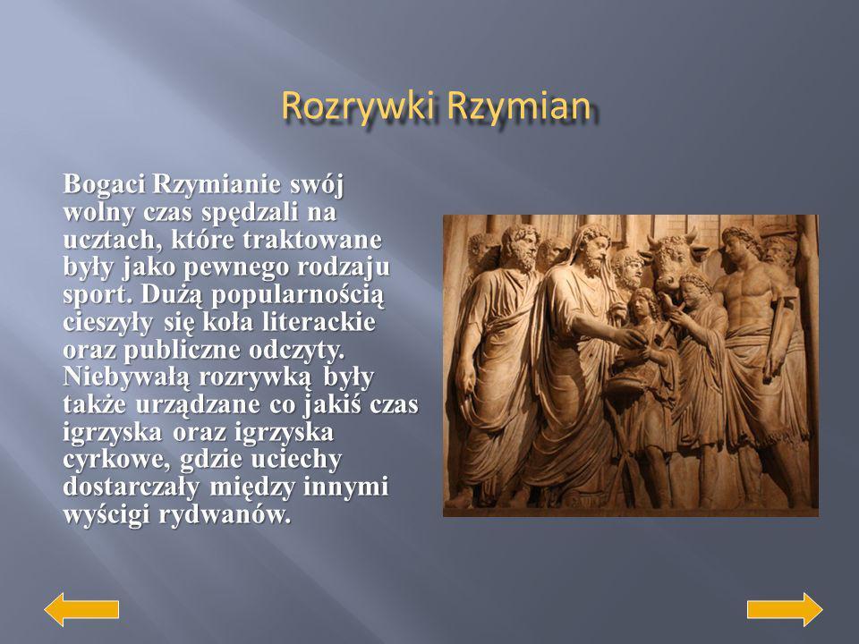 Rozrywki Rzymian