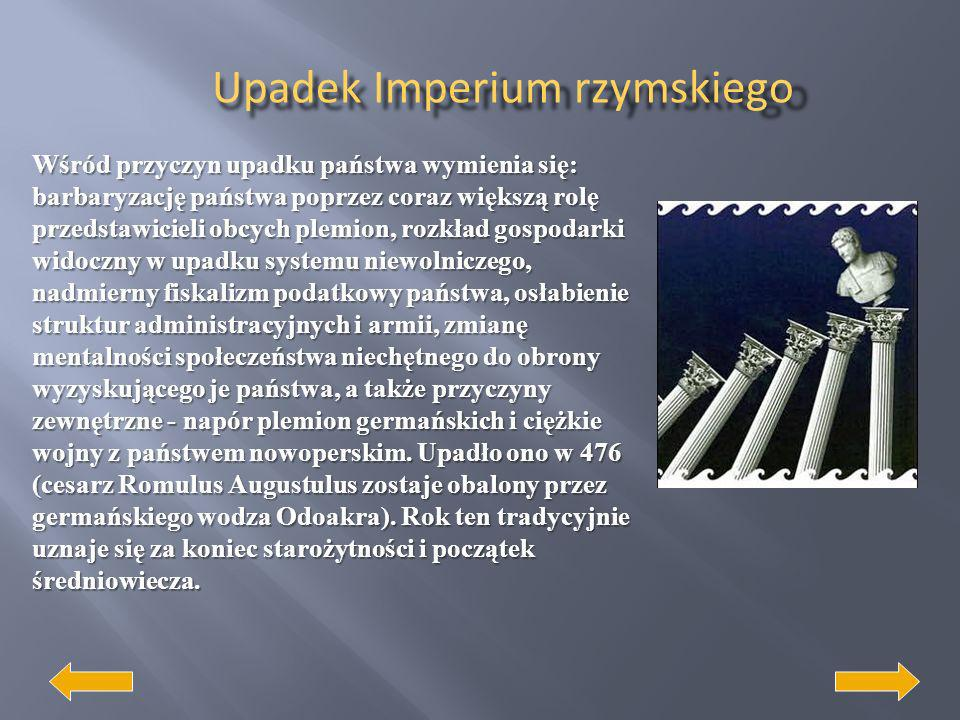 Upadek Imperium rzymskiego