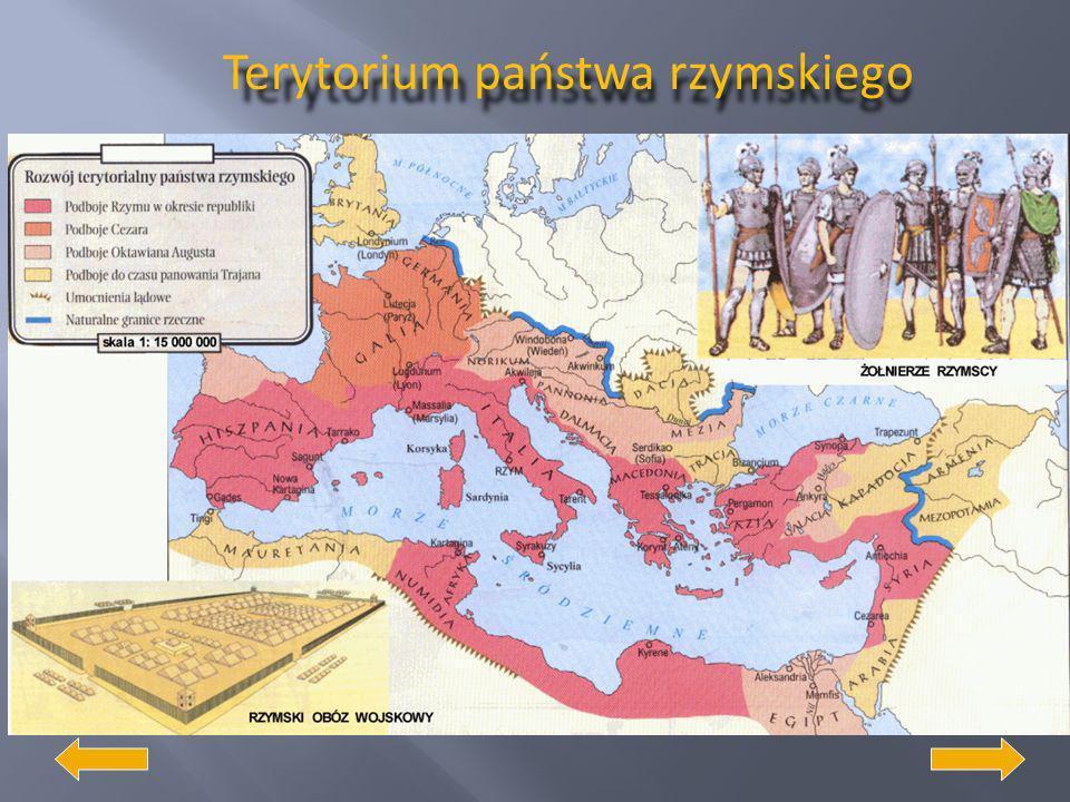 Terytorium państwa rzymskiego