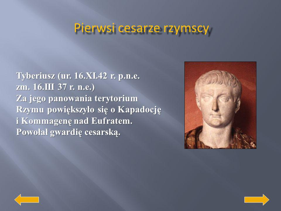 Pierwsi cesarze rzymscy