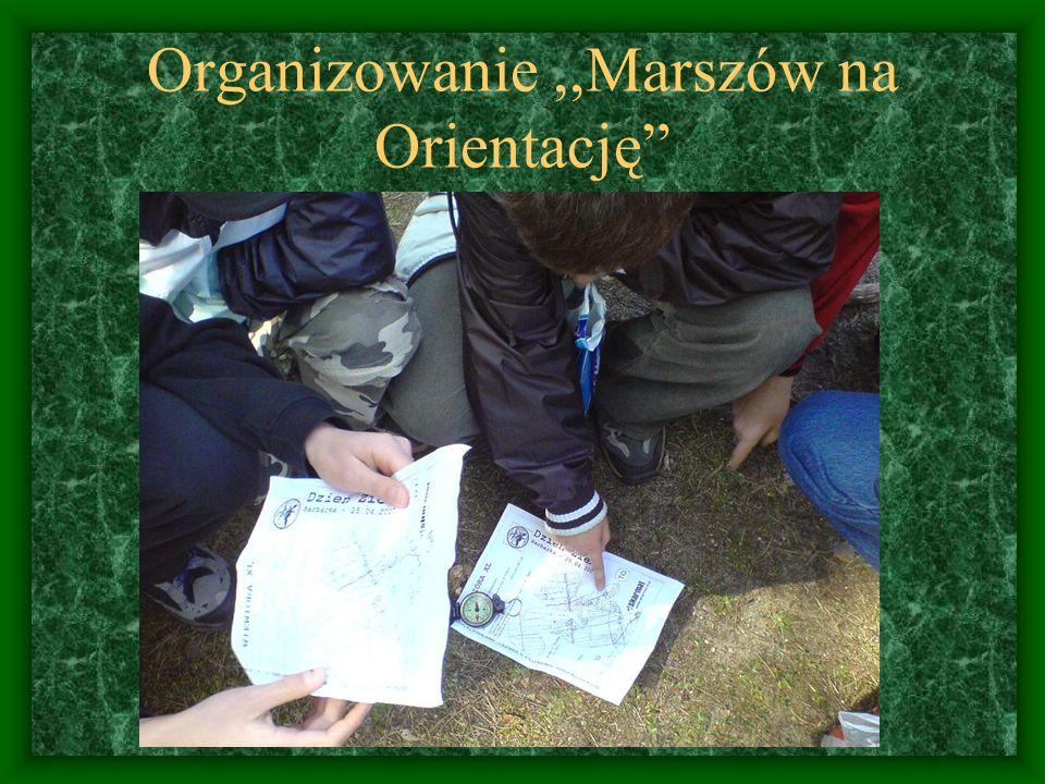 Organizowanie ,,Marszów na Orientację