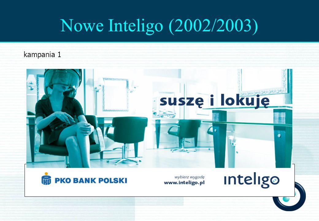 Nowe Inteligo (2002/2003) kampania 1