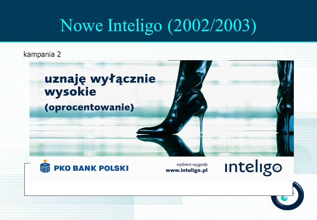 Nowe Inteligo (2002/2003) kampania 2