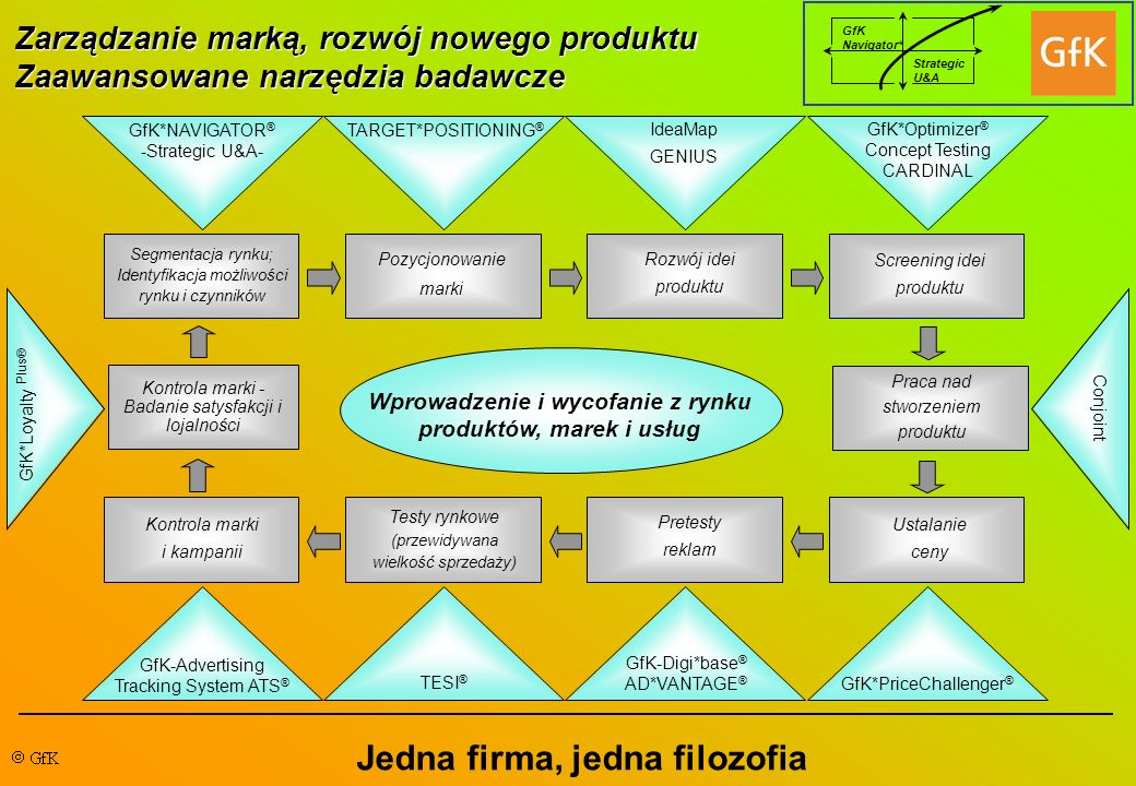 Wprowadzenie i wycofanie z rynku produktów, marek i usług