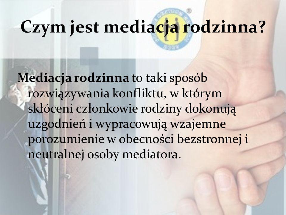 Czym jest mediacja rodzinna