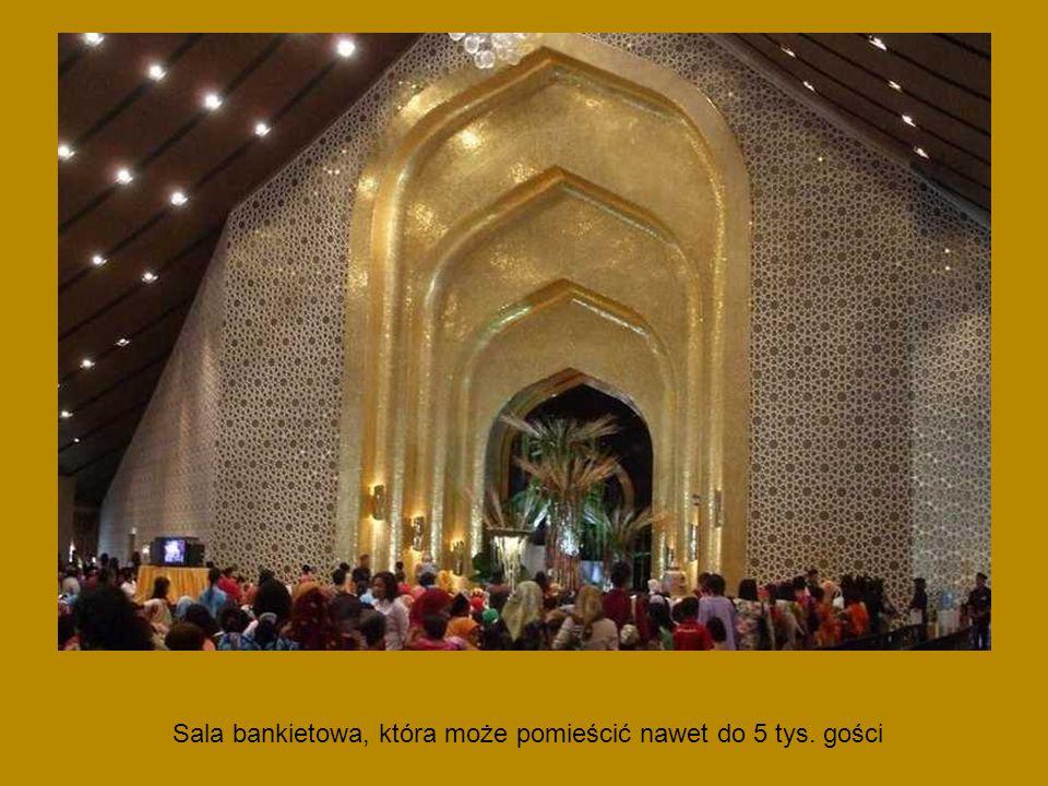 Sala bankietowa, która może pomieścić nawet do 5 tys. gości