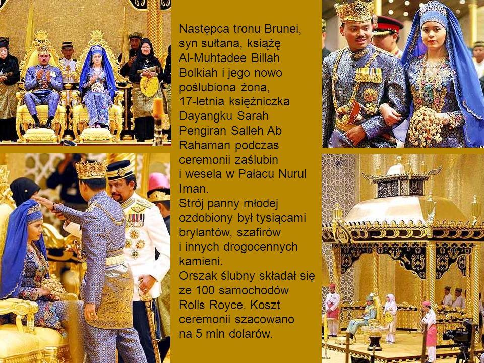 Następca tronu Brunei, syn sułtana, książę