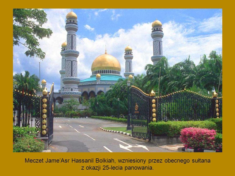 Meczet Jame'Asr Hassanil Bolkiah, wzniesiony przez obecnego sułtana