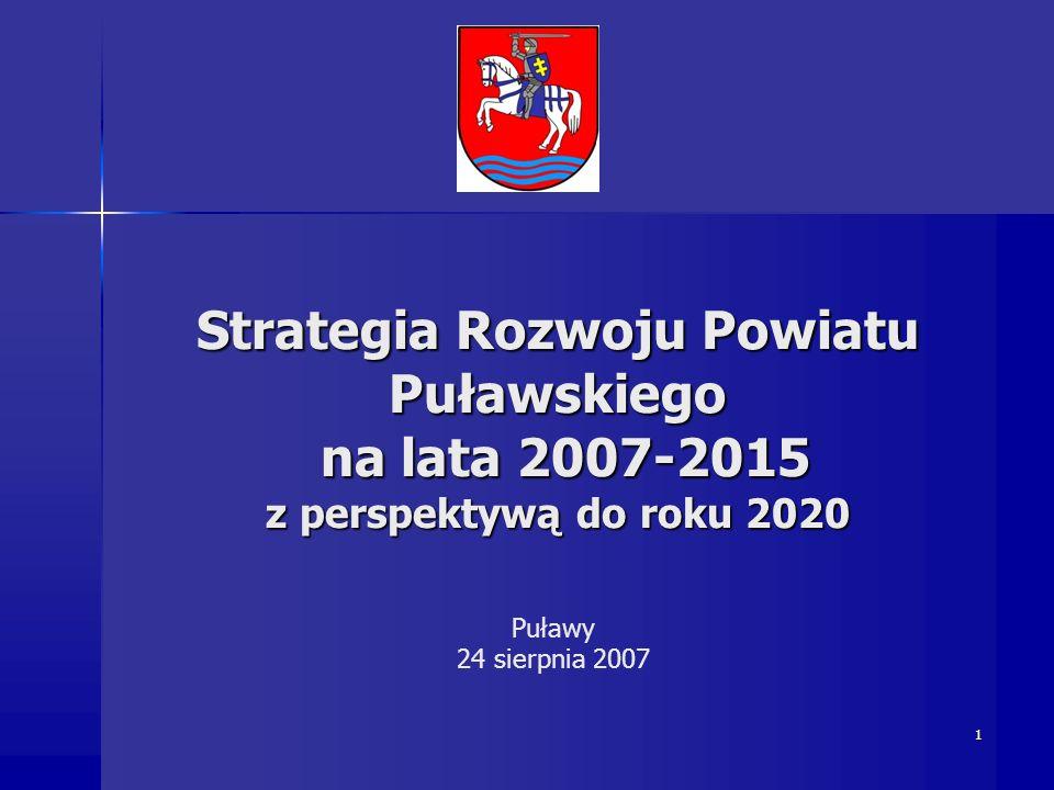 Strategia Rozwoju Powiatu Puławskiego