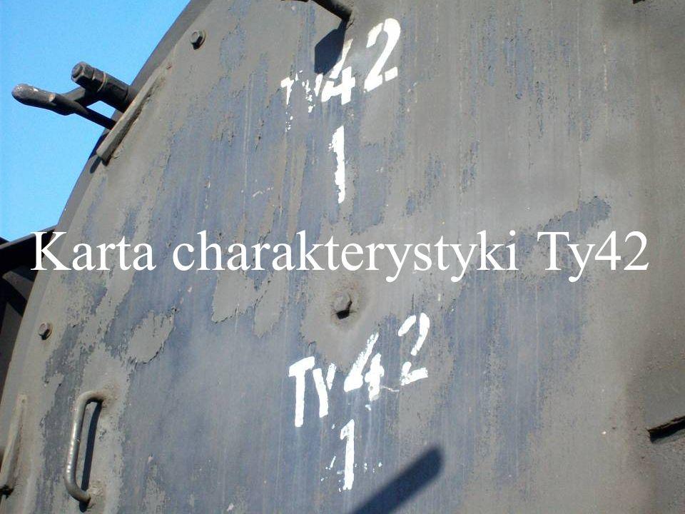 Karta charakterystyki Ty42
