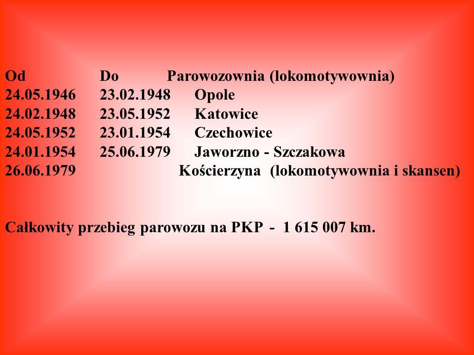 Od Do Parowozownia (lokomotywownia)