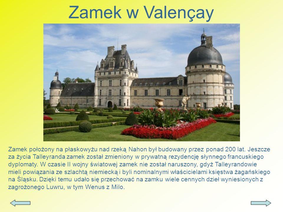 Zamek w Valençay