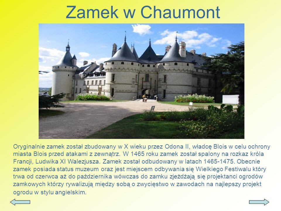 Zamek w Chaumont